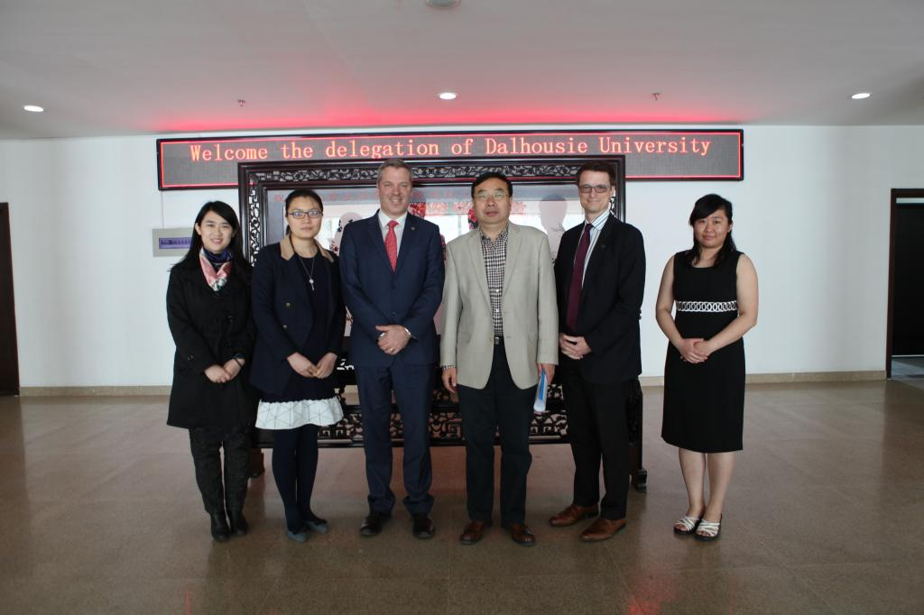 [Foreign affairs] Moorhouse School of management, Dahl University of Canada